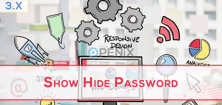 OpenCart Show Hide Password
