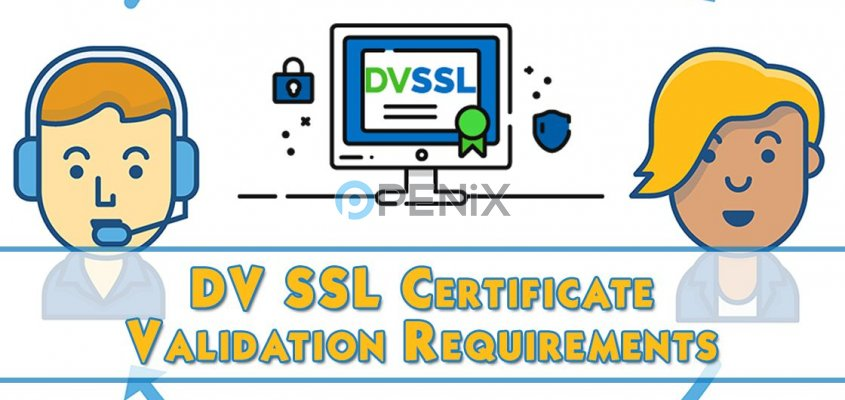 DV SSL Certificate Validation Requirements