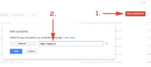 Google Search Console Websitesi Eklemek