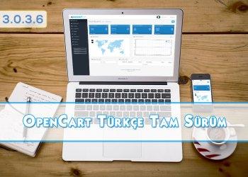 OpenCart 3.0.3.6 Türkçe Tam Sürüm