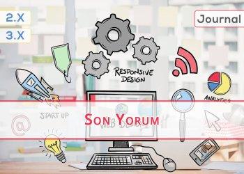 OpenCart Son Yorum