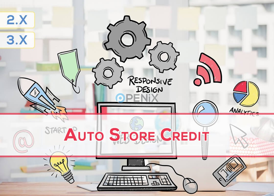 OpenCart Auto Store Credit by Order Totals
