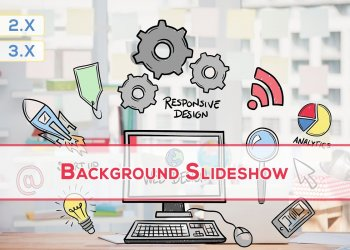 OpenCart Background Slideshow
