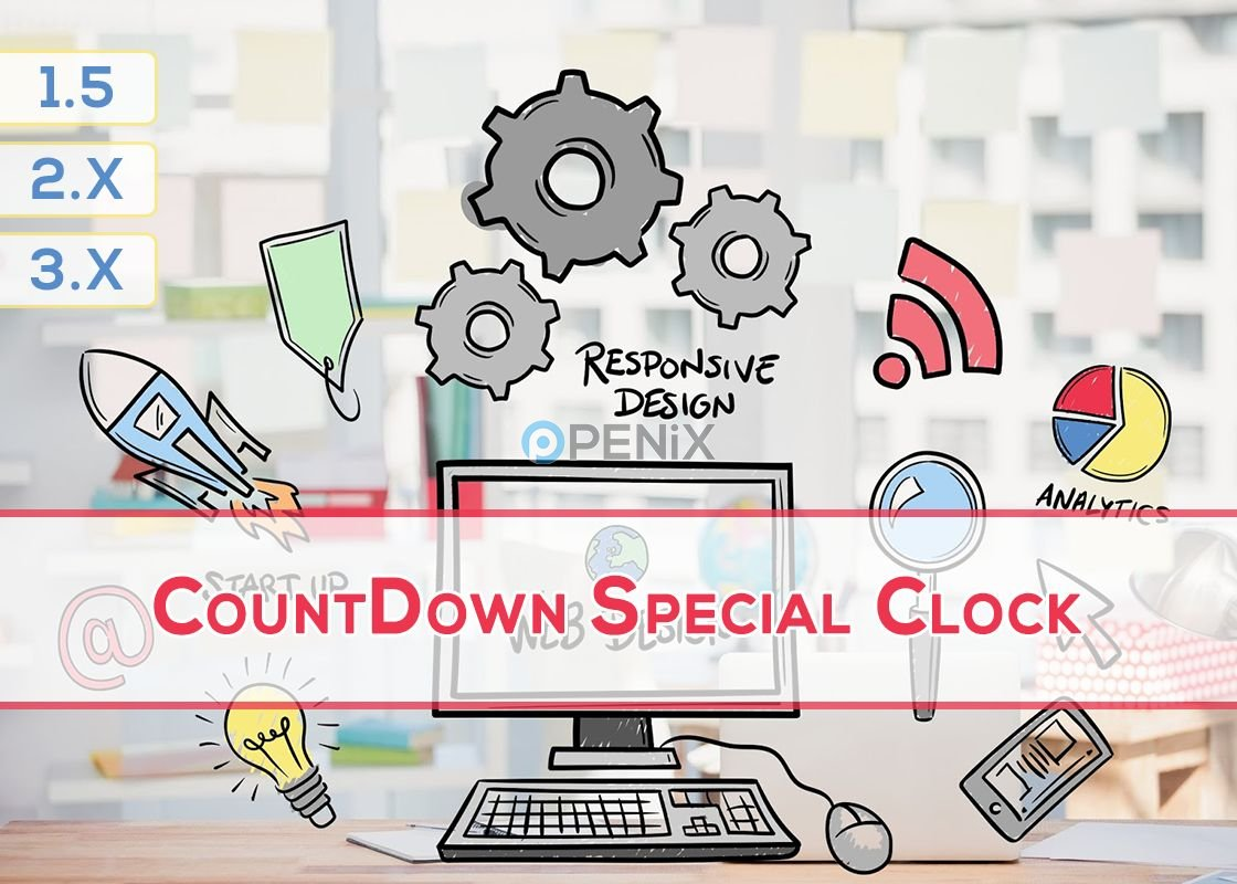 OpenCart CountDown Special Clock