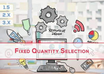 OpenCart Fixed Quantity Selection