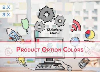 OpenCart Renk Seçeneği
