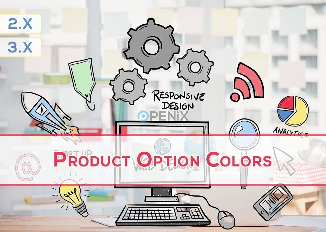OpenCart Option Colors