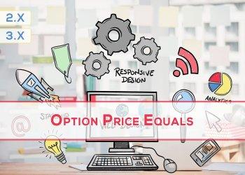 OpenCart Ürün Fiyatını Seçenek Fiyatına Eşitle