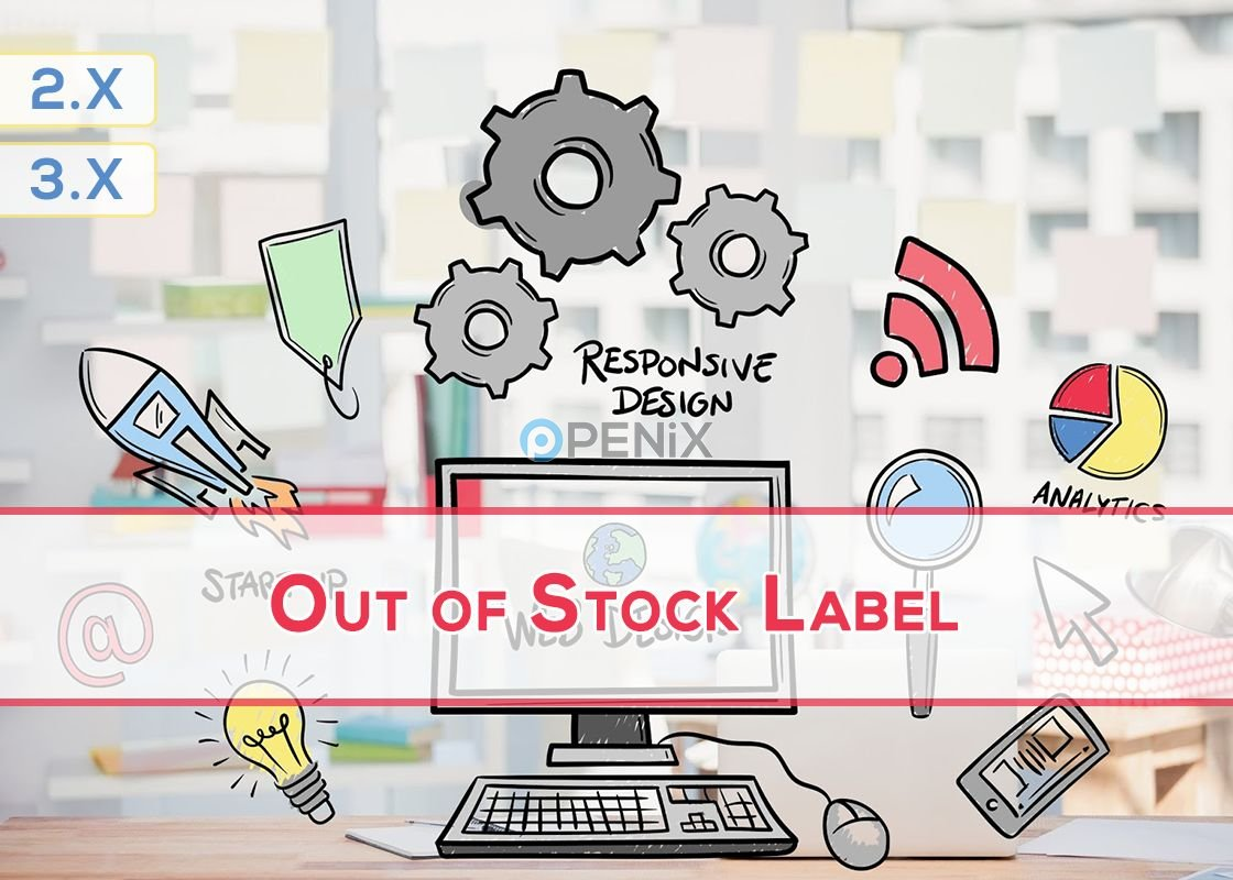 OpenCart Out of Stock Label