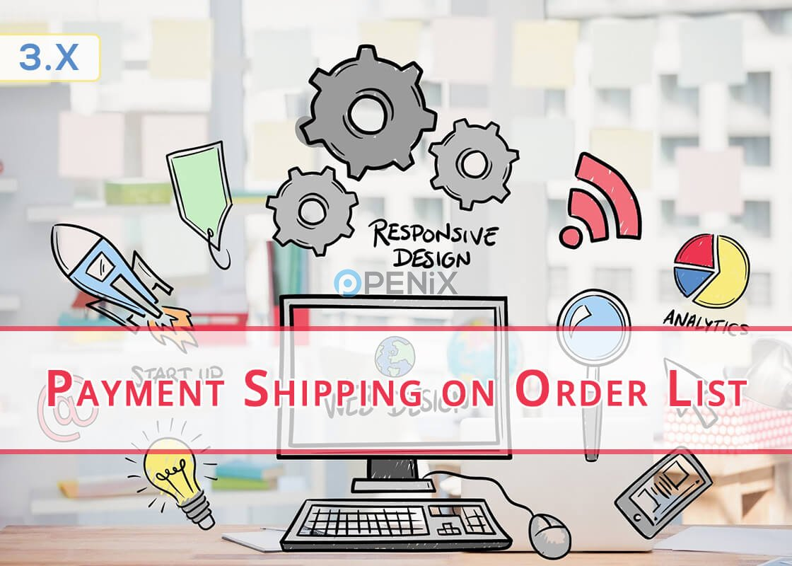 OpenCart Payment and Shipping Method on Order List
