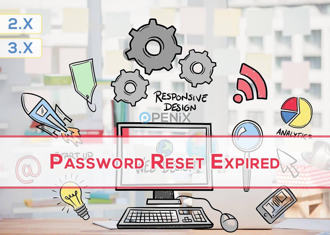 OpenCart Password Reset Expired
