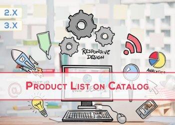 OpenCart Ürün Listesi