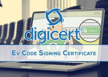 DigiCert EV Code Signing Certificate