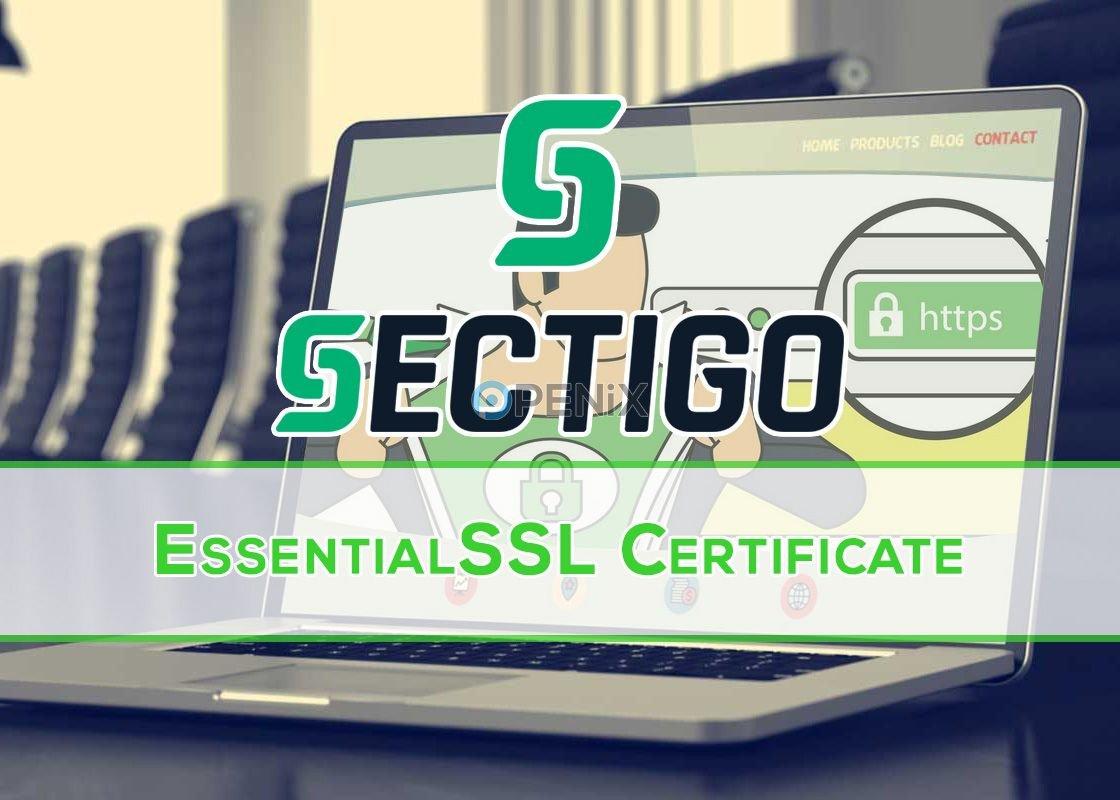 Sectigo EssentialSSL Sertifikası