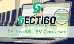 Sectigo PositiveSSL EV Sertifikası