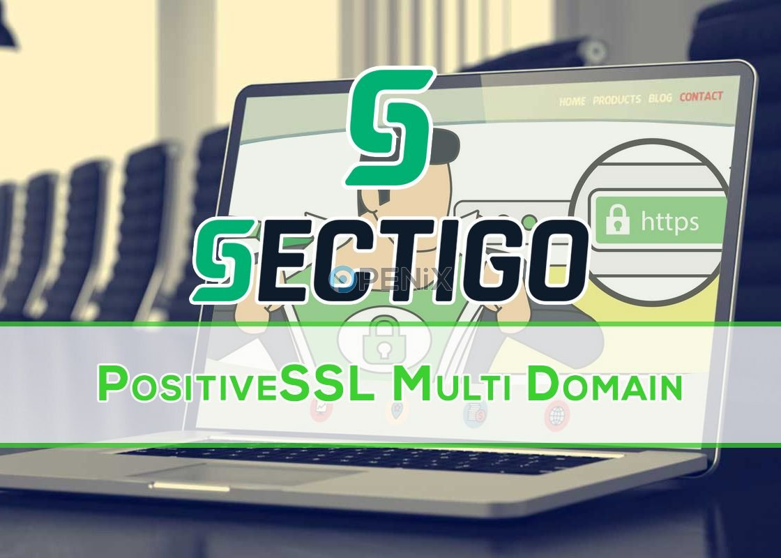 Sectigo PositiveSSL Multi-Domain Sertifikası