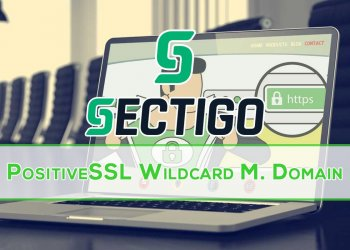 Sectigo PositiveSSL Multi-Domain Wildcard Certificate